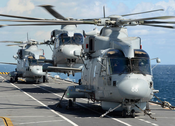 Embarked Aviation - Merlins on Flight Deck