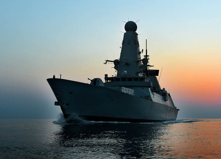 Surface Ship - Type 45 Destroyer